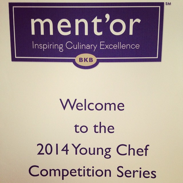 Looking forward to taste what the chefs cook today at the young ...