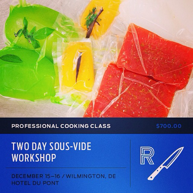 Register here sous vide training: ...