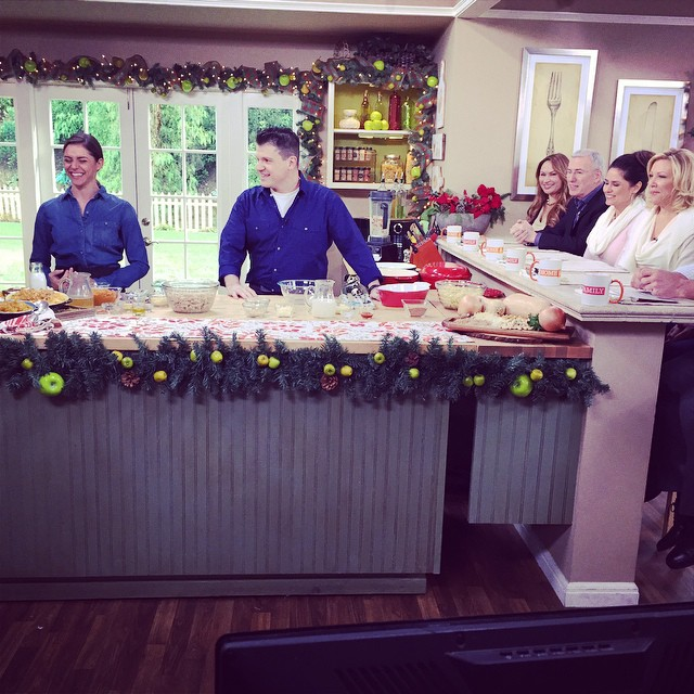 MONDAY tune in to @homeandfamilytv to watch @chefvikkik and ...