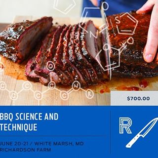 4 spots left for our next BBQ class at Richardson Farms register ...